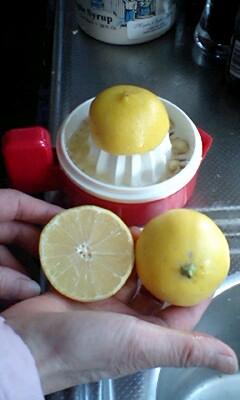 甘いレモン