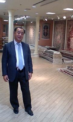神戸の絨毯ギャラリーさんです。