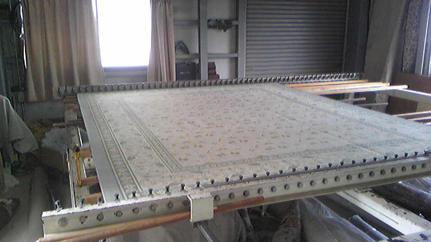 中国シルクダンツウの変形を直します。